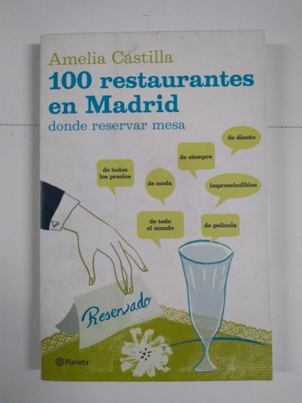 100 restaurantes en Madrid