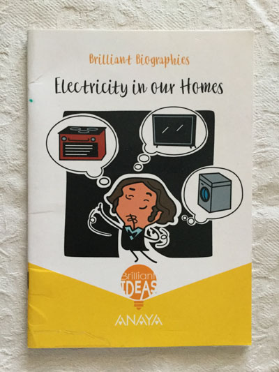 Brillant Biographies: Electricity in our homes