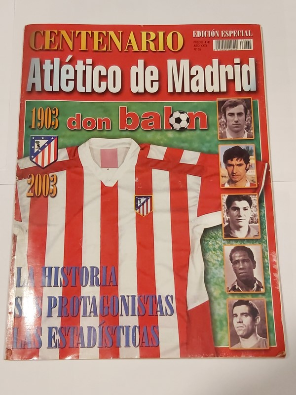 don balón. Atletico de Madrid