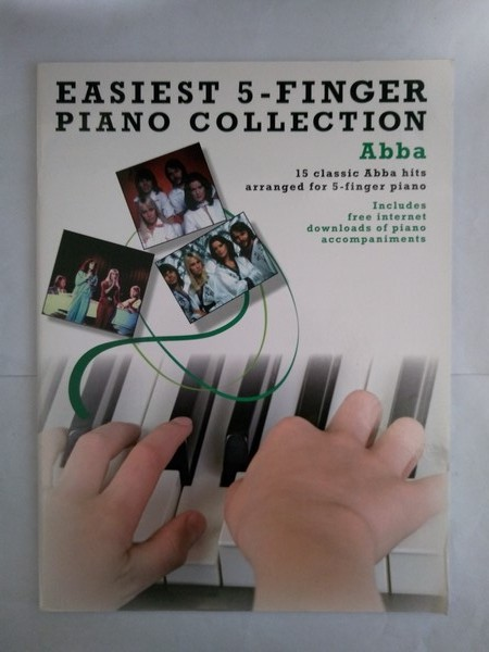 Easiest 5 – Finger Piano Collection. Abba