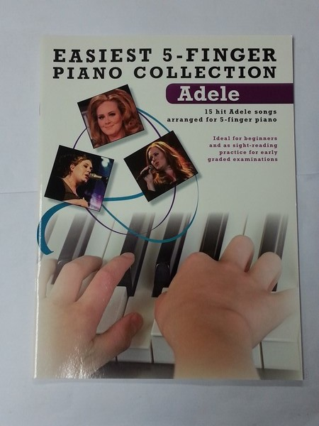 Easiest 5 – Finger Piano Collection. Adele