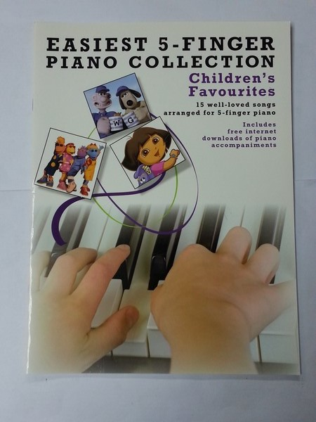 Easiest 5 – Finger Piano Collection. Children´s Favourites