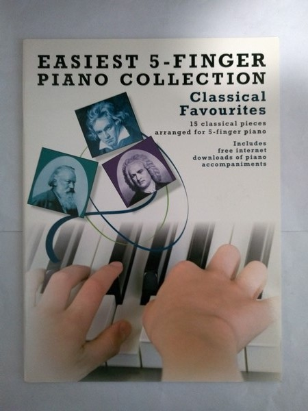 Easiest 5 – Finger Piano Collection. Classical Favourites