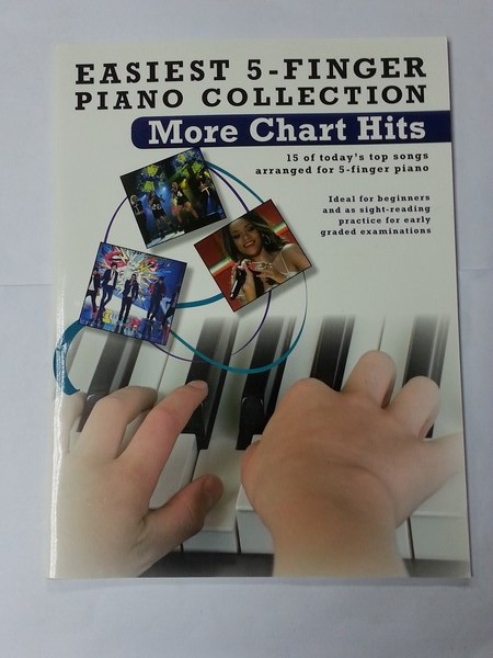 Easiest 5 – Finger Piano Collection. More Chart Hits