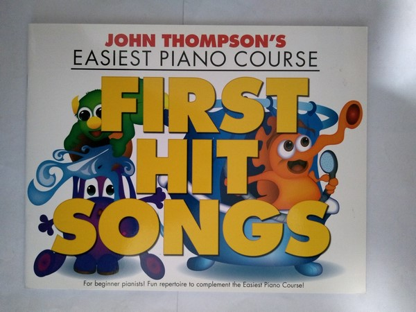 Easiest Piano Course. First hit songs
