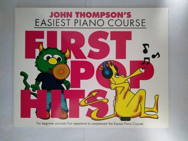Easiest Piano Course. First pop hits
