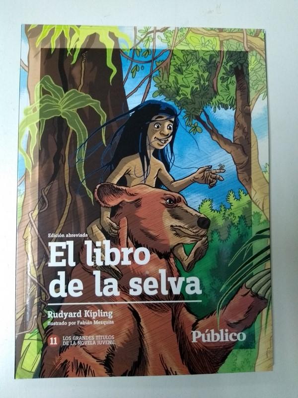 c98676e45 El libro de la selva | Rudyard Kipling | 9788498990034 Libros de segunda  mano baratos - Libros Ambigú - Libros usados