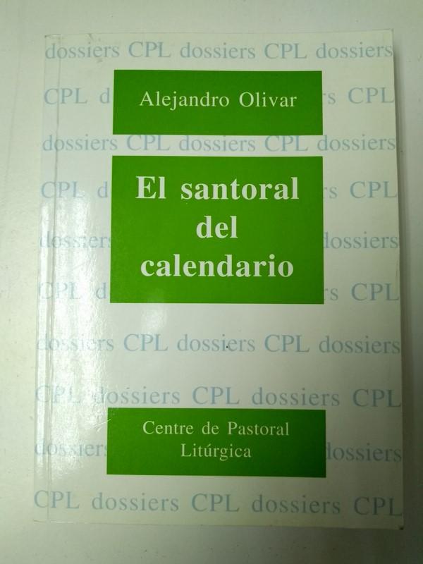 Calendario Santoral.El Santoral Del Calendario Alejandro Olivar 847467560x