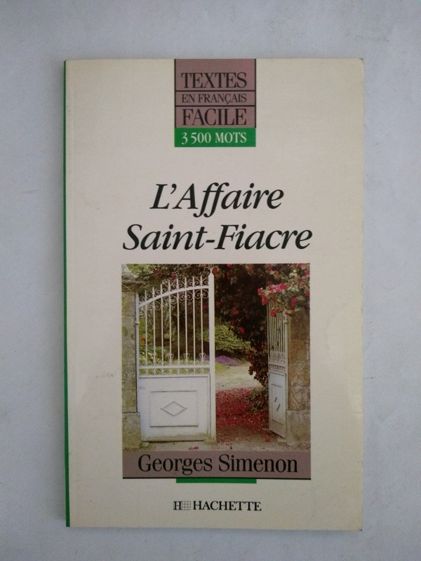 L'affaire Saint – Fiacre