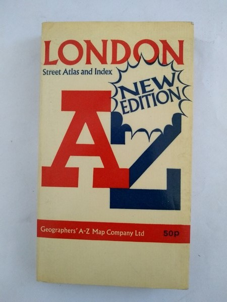 London. Geographers' A – Z map
