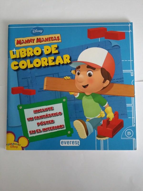 Manny Manitas. Libro de colorear | | 8444163465 Libros de segunda ...