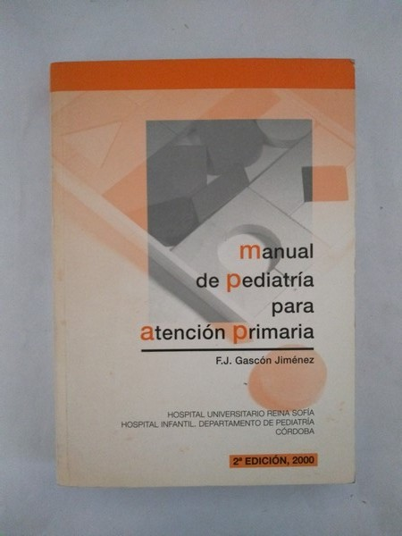 Manual de pediatria para atencion primaria