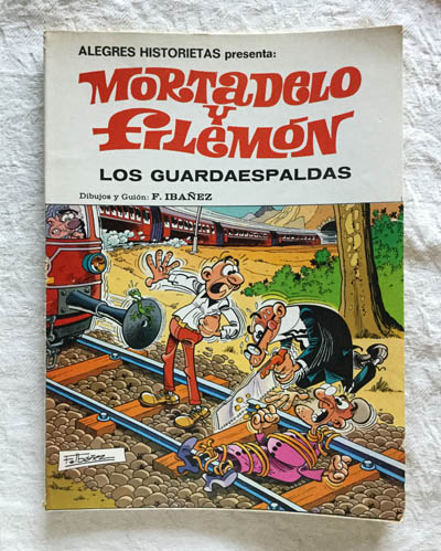 Mortadelo y Filemón. Los Guardaespaldas