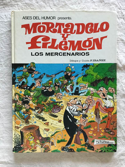 Mortadelo y Filemón. Los mercenarios