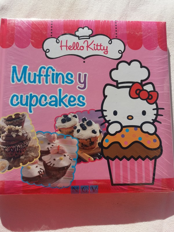 Muffins y cupcakes. Hello Kitty