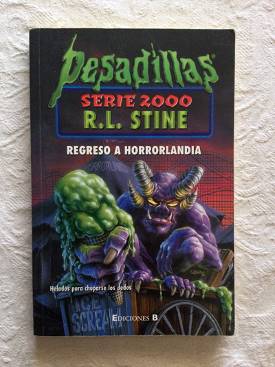 Pesadillas. Regreso a horrorlandia