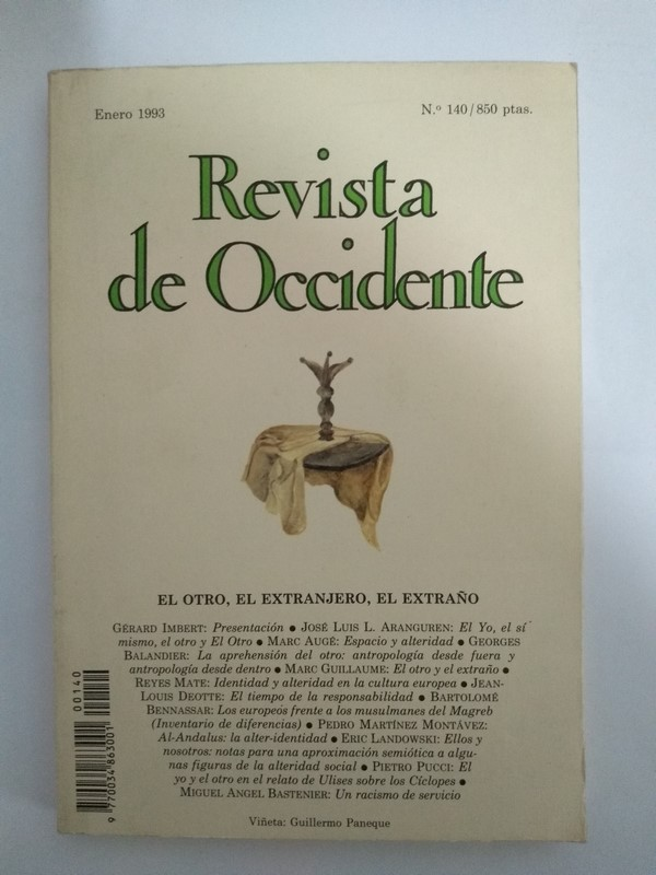 Revista de Occidente 140